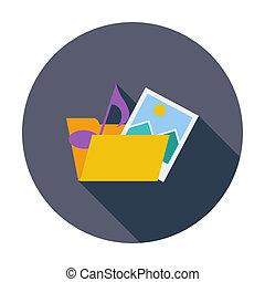 Folder icon.