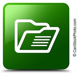 Folder icon green square button