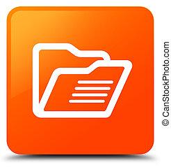 Folder icon orange square button
