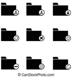 folder icon set
