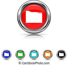 Folder icon - six colours set