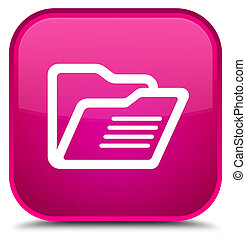 Folder icon special pink square button