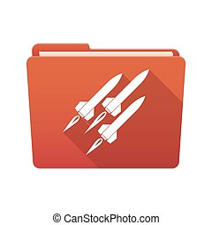 Folder icon with missiles
