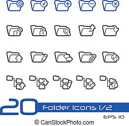 Folder Icons-1of2 // Line-Series