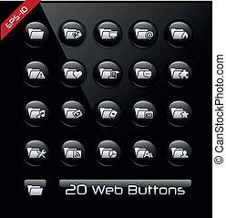 Folder Icons 2 - Black Label Series