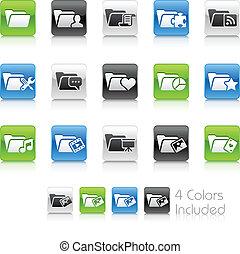 Folder Icons - 2 // Clean Series