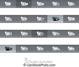 Folder Icons - 2 // Gelbar Series