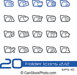 Folder Icons-2of2 // Line-Series