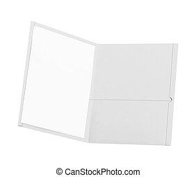 folder isolated on white background