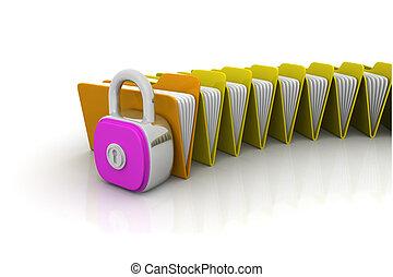 Folder security concept