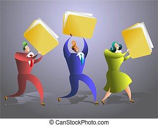 folder team