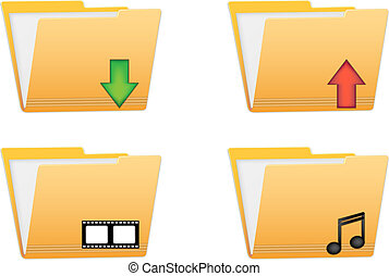 folder vector icons