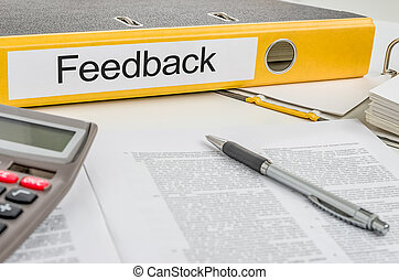 Folder with the label Feedback