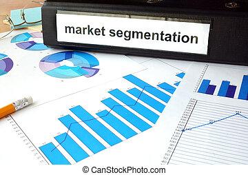 market segmentation - Folder with the label market...