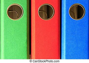folders, bestand