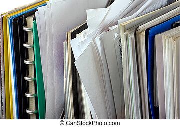 folders, documenten, bestand
