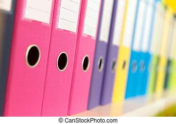 folders, getal