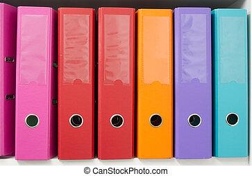 folders, kantoor