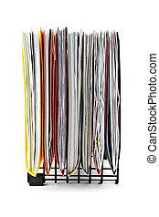 folders, papieren