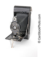 Folding Camera - Antique folding camera
