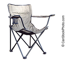 Folding Chair with Drink Holder
