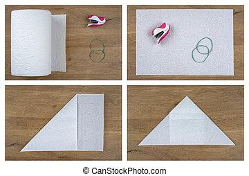 Folding Paper Mask 1/5