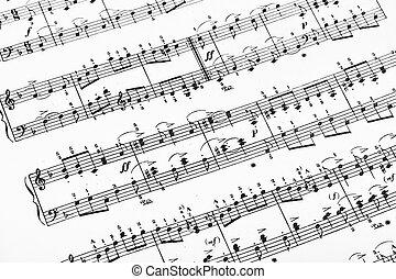 folha música