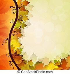 folheia, outono