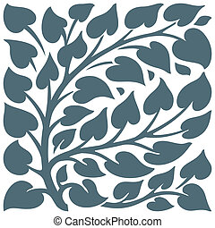foliage - 2-D objects CorelDRAW, vector drawing, computer...