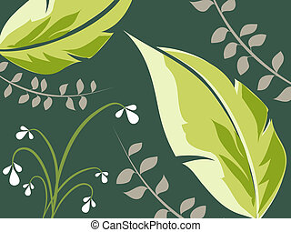 Foliage - Abstract foliage background