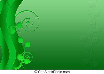 Foliage Swirls