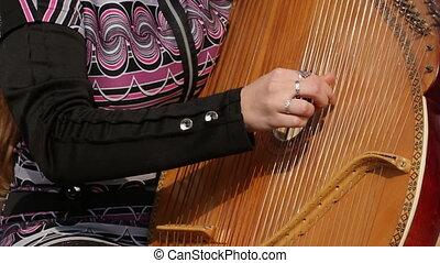 Folk Artist Plays The Bandura - folk artist plays the...