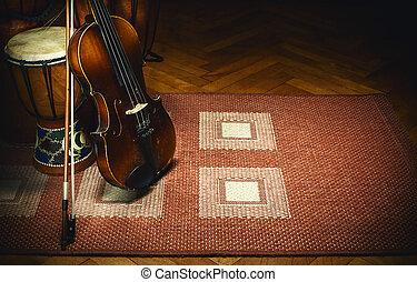 Folk Music Acoustic Instruments