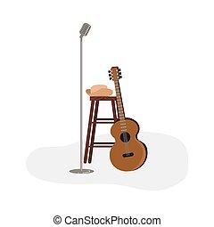 folk-music, of, land muziek, symbolen