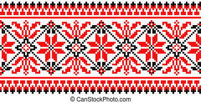 Folk ornament - vector illustration of folk ornament