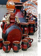 Folk pottery 1