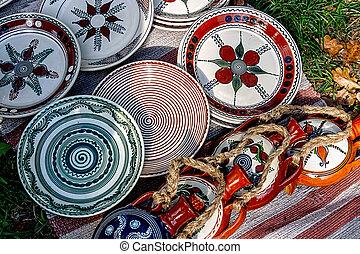 Folk pottery 10