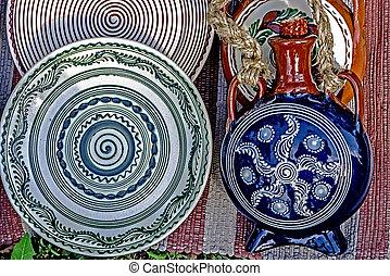 Folk pottery 11