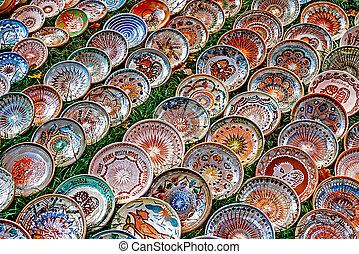 Folk pottery 14