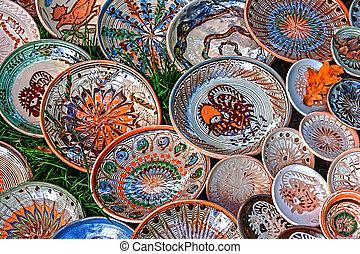 Folk pottery 15