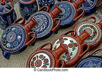 Folk pottery 2