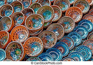 Folk pottery 7