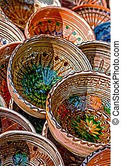 Folk pottery 9