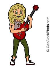 Folk rock Christian singer and guit