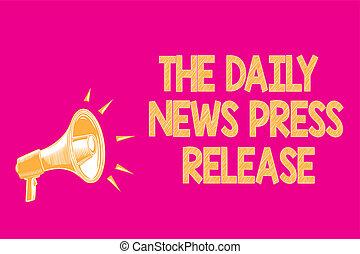 folk, tekst, tegn, meddelelse, release., tal, loudspeaker, fotografi, begrebsmæssig, megafon, tal, lyserød, loud., stor, viser, vigige, baggrund, presse, nyhed, kungør, daglige, eller
