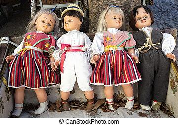 Folklore dolls on Madeira island, Portugal