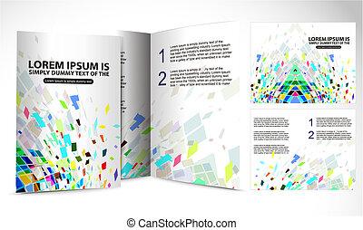folleto, diseño