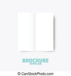 folleto, empresa / negocio, plantilla