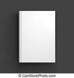 folleto, mockup., libro blanco, cuaderno, libro de texto, o