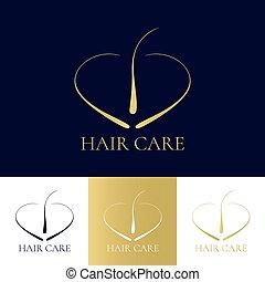 follicule cheveux, symbole
